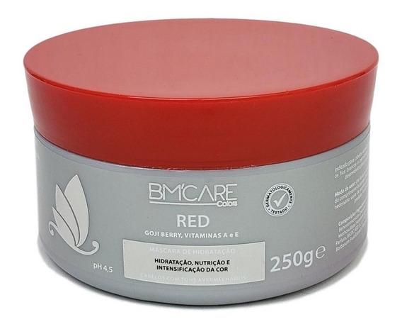 Bm Care Máscara Tonalizante Hidratante Red Cabelos Vermelhos