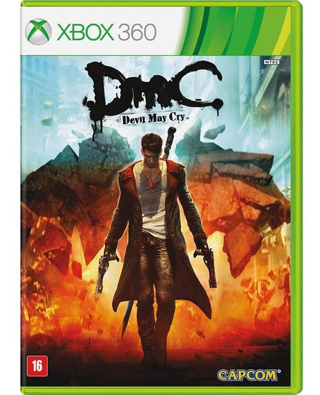 Devil May Cry Dmc Xbox 360 Original Seminovo