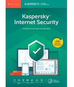 Kaspersky Internet Security - 1 Disp 1 Ano - Envio Imediato