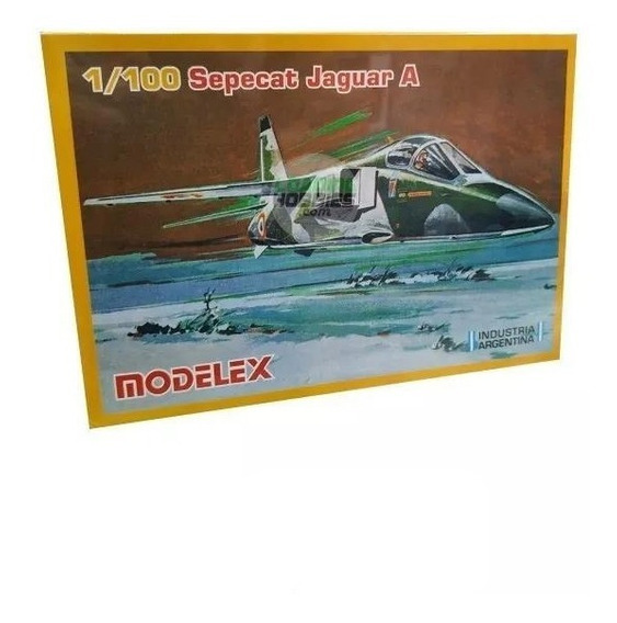 Avion Sepecat Jaguar Maq Plastico Modelex Esc1:100 Playking