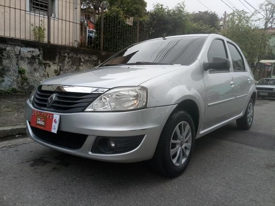 Renault Logan Expression 1.0 Hi-flex 2011 Completo