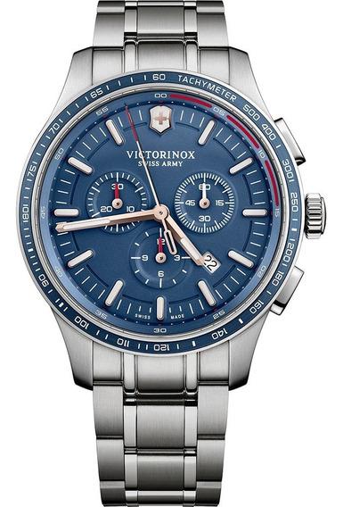 Reloj Victorinox Inox Carbon 241817 Suizo Oficial