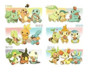 Pacote De Iniciais Shiny 6 Ivs - Pokemon Xy, Oras, U Sumo.