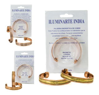 Pulsera Magnetica Cobre India