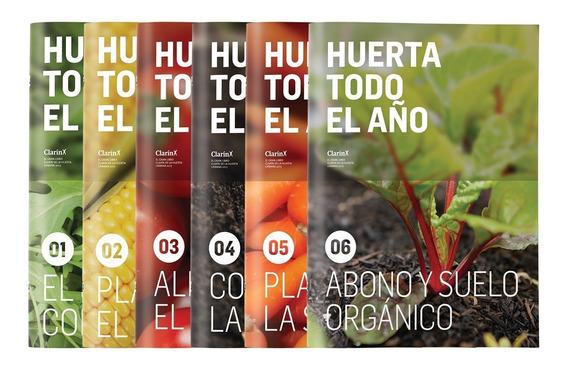 Clarín Colección Huerta Todo El Año Con Semillas Plantables