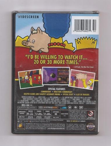 The Simpsons Movie Dvd Usa Nuevo Mercado Libre