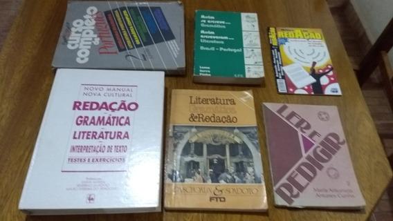 Kit Contendo Seis Livros Antigos.