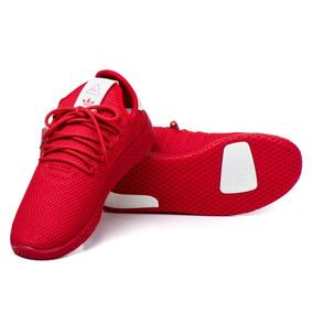 Tênis adidas Original Hu W Vermelho