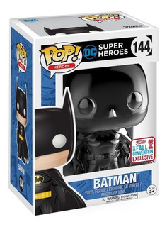 Funko Pop! Batman Black Chrome Exclusive Nycc Dc
