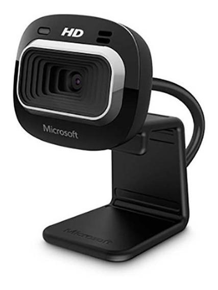 Microsoft Webcam Hd-3000 Usb Preta T3h00011