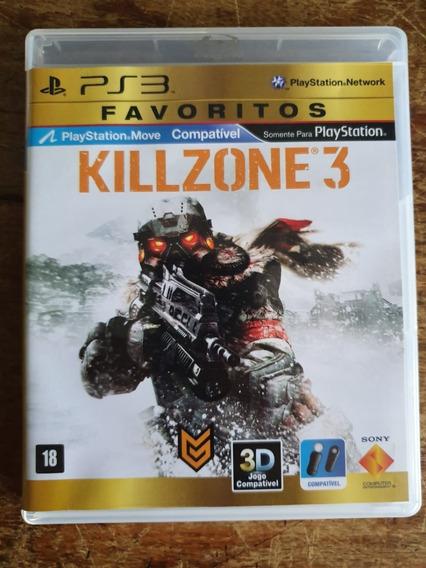 Jogo Killzone 3 Ps3 Usado