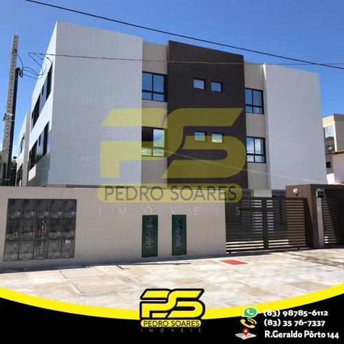 Apartamento Com 2 Dormitórios À Venda, 53 M² Por R$ 185.000 - Aeroclube - João Pessoa/pb - Ap2563