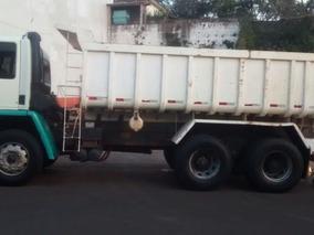 Ford Cargo 2425 6x4 Traçado Caçamba Caminhão Trabalhando 10