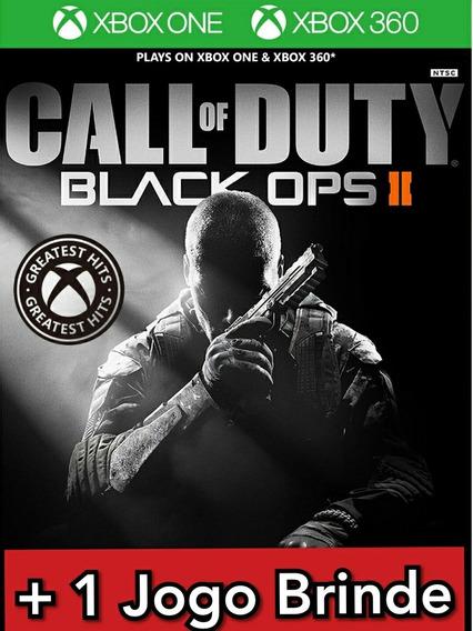 Call Of Duty Black Ops 2 Xbox 360 Xbox One Mídia Digital