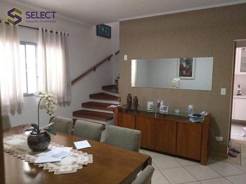 Sobrado Com 3 Dormitórios À Venda, 183 M² Por R$ 741.000 - Rudge Ramos - São Bernardo Do Campo/sp - So0063