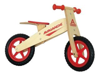 Bicicleta De Madera Aprendizaje Aro 12