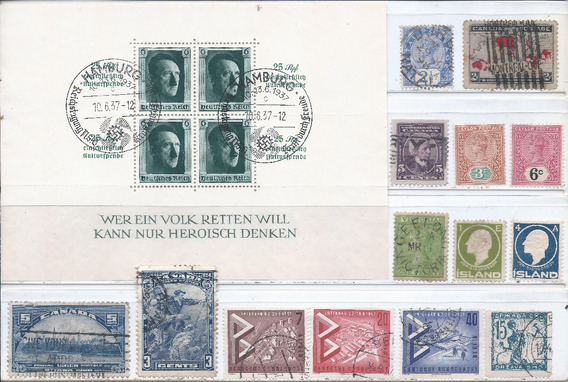 Alemania Reich, Reino Unido, Muchos Mnh Mire!!