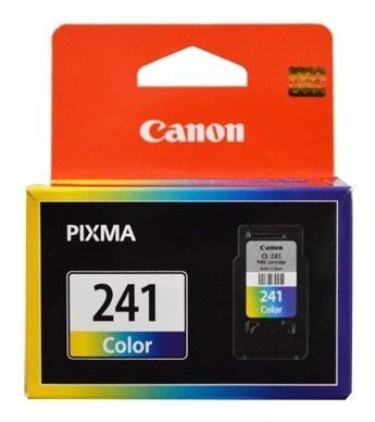 Cartucho Canon 241 Xl Original 15ml Somos Tienda Física