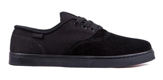 Tênis Hocks Sonora Skate Todo Preto Black Original