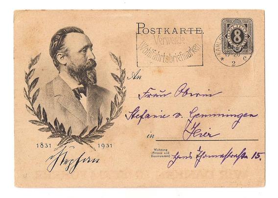 Alemania 3º Reich Postal Circulada Año 1931