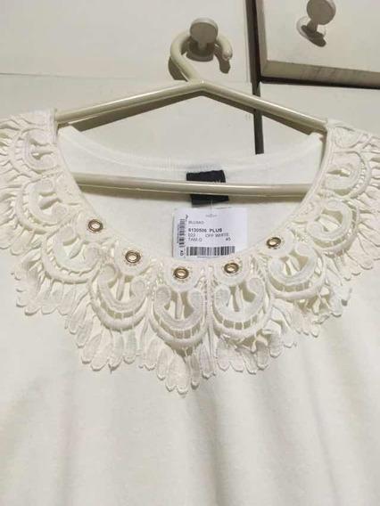 Blusão Off White Tamanho G