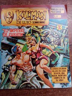Revista Kaliman De Lujo Vintage