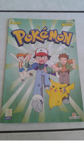 Álbum Buzzy Riclan Pokemon 1995 Incompleto Bom Estado