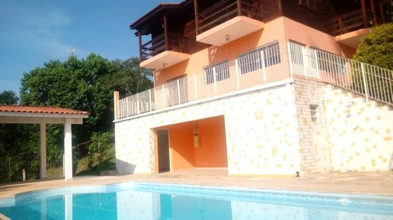 C-2462 Casa Com Linda Vista No Condomínio Alpes De Guararema - Sp - 2404