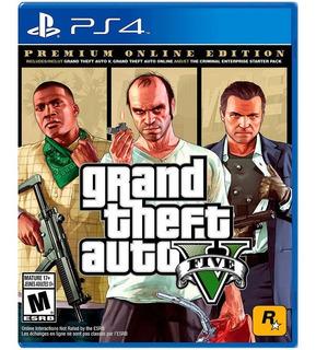 Grand Theft Auto V Premium Playstation 4 Nuevo