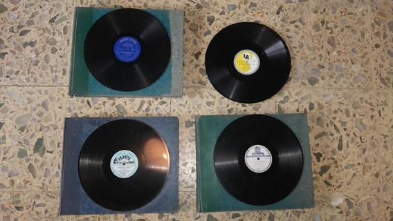 Discos De Pasta Diversos Intérpretes Orquesta, Sinfónico,etc