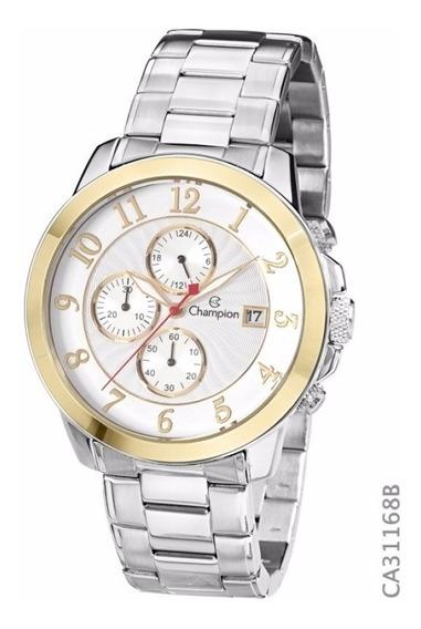 Relógio Champion Ca31168b Prata