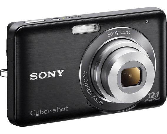 Camara Sony Cybershot 12.1mp Dsc-w310 4x Zoom Como Nueva