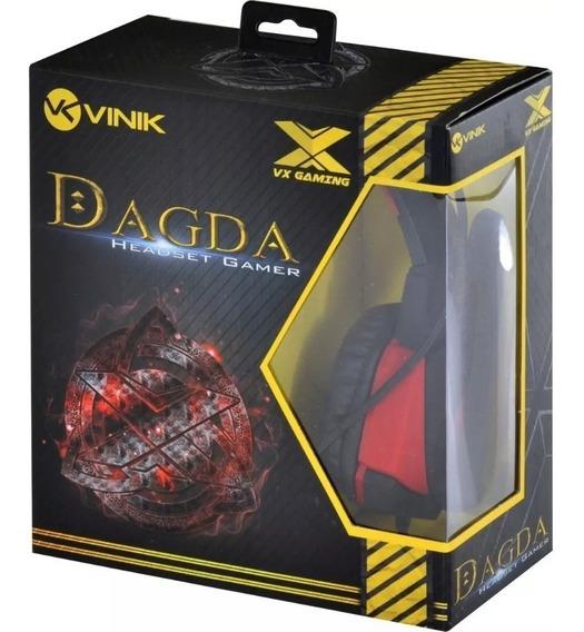 Headset Gamer Dagda Vx 7.1 Pto E Vmo Emborrachado Promoção