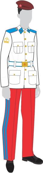 Uniforme Colégio Militar: Enxoval Colégio Militar Masculino