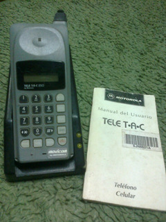 Celular Motorola Teletac C/manual - Decoracion