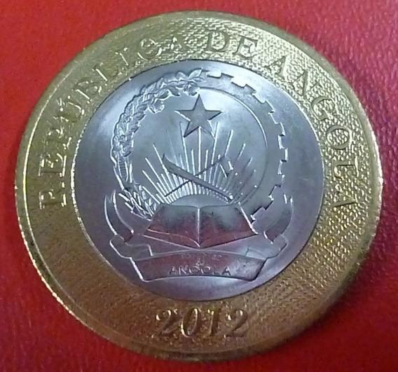 Angola Moneda Bimetalica 5 Kwanzas 2012