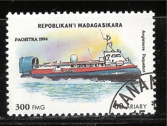 Madagascar - Paquebote Britanico - 1994