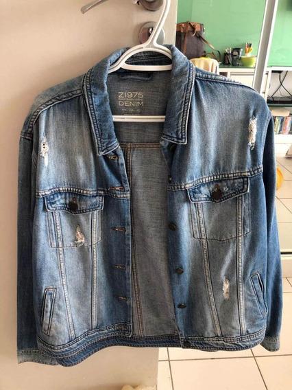 Jaqueta Jeans Zara Basic Nunca Usada Tam:u