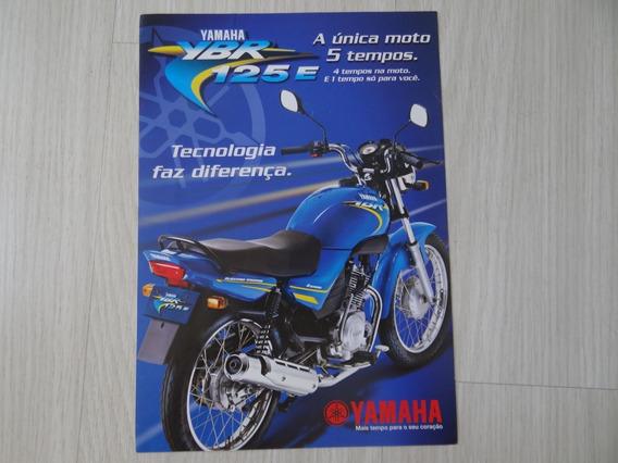 Moto Ybr 125 (ano: 2004) - Folder Original