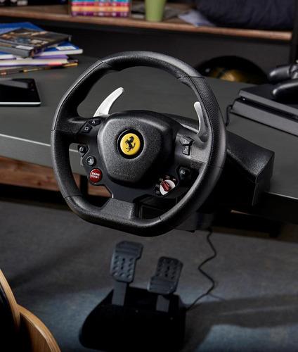 Volante Trhusmaster T80 Ferrari + Gran Turismo Sport