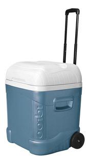 Caixa Térmica 66l Cooler Até 114 Latas Igloo Com Rodas Alça