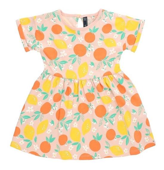 Vestido Algodón De Bebé Niña C&a Estampado