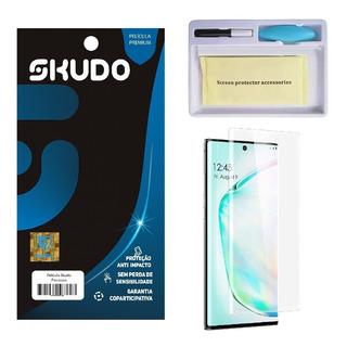 Película Skudo Vidro 3d Uv Samsung Galaxy Note 10 Tela 6.3