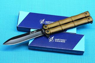 Cuchillo Navaja Mariposa Albainox Balisong 36234 - Abanico
