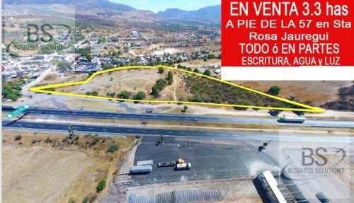 Terreno En Venta En Santa Rosa Jauregui, Queretaro Gps
