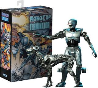 Robocop Endocop Vs Terminator Dog Neca Original Replay