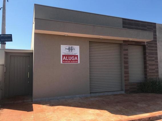 Salão Para Alugar, 155 M² Por R$ 1.800,00/mês - Residencial Fortaleza - Brodowski/sp - Sl0110