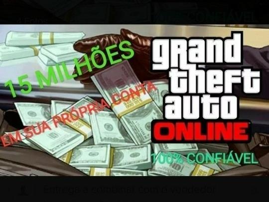 15 Milhões Dinheiro Gta 5 Online Ps4