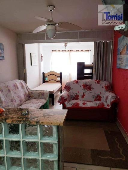 Kitnet Com 1 Dormitório À Venda, 32 M² Por R$ 110.000 - Aviação - Praia Grande/sp - Ref. Kn0174 - Kn0174