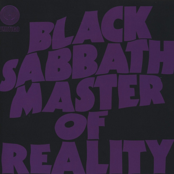 Lp Black Sabbath Master Of Reality Vinil Capa Relevo Vertigo